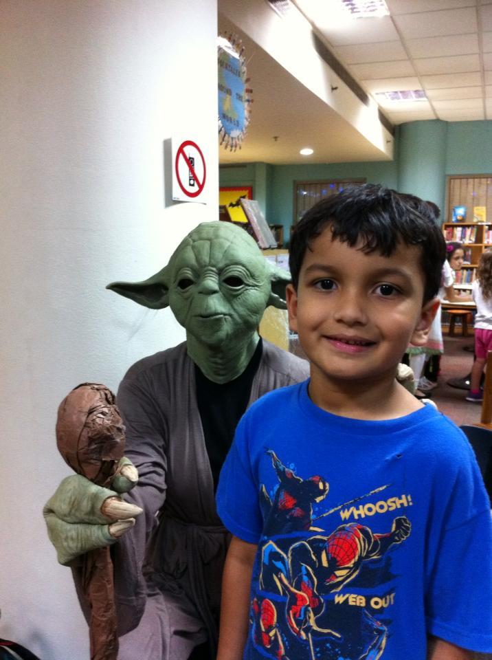 Yoda and Arwan