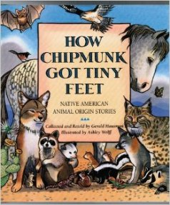 how chipmunk got tiny feet