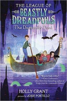 The beastly dreadfuls dastardly deed