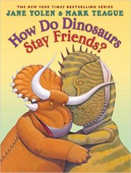 How do Dinosaurs stay friends