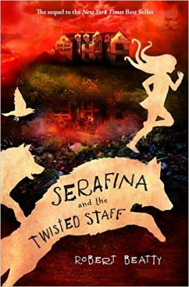 Serafina twisted staff
