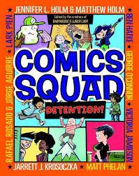 COmics squad detention