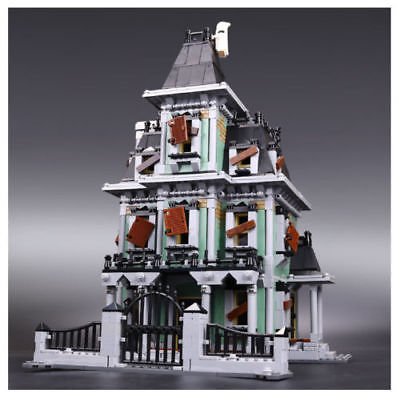 16007-2141Pcs-Monster-Fighters-Haunted-House-Model-Building