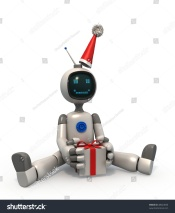 robot present bot