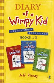 Wimpy Kid 1-3